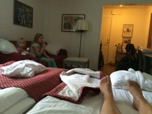 barnvänligt hotell