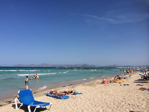 Mallorca, familjehotell, strand, barn, resa