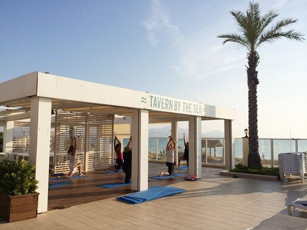 yoga vid havet, aktiviteter, charter, resa, barn